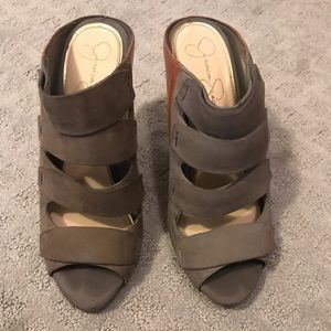 Jessica Simpson suede wedge